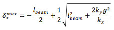 Comb drive actuators equation 5